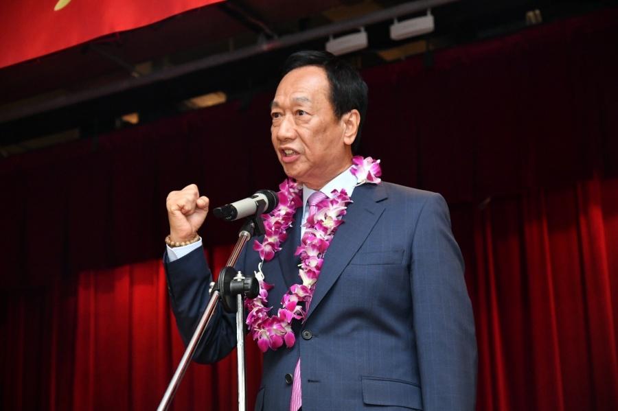 鸿海富士康新董事长刘扬伟接任,郭台铭卸任参选2020对鸿海股价有帮助