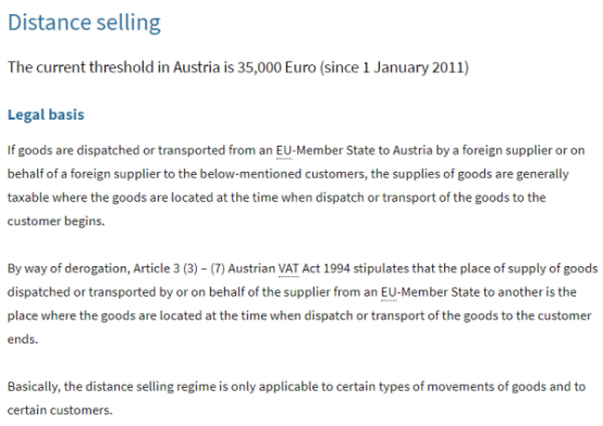 奥地利VAT税务常见问题-VAT证书及申报